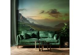 Fototapety na ścianę do salonu - trendy, pomysły, aranżacje