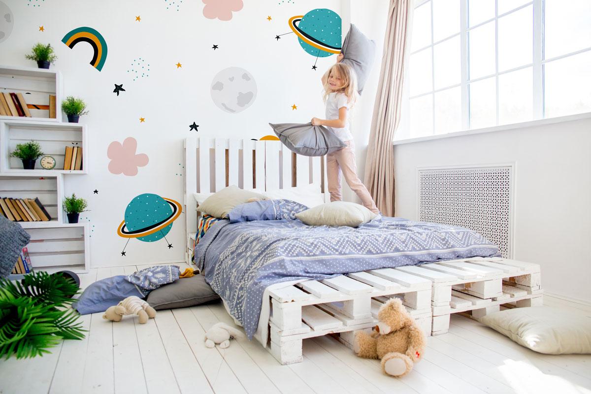 Przestrzeń do pokoju dziecięcego