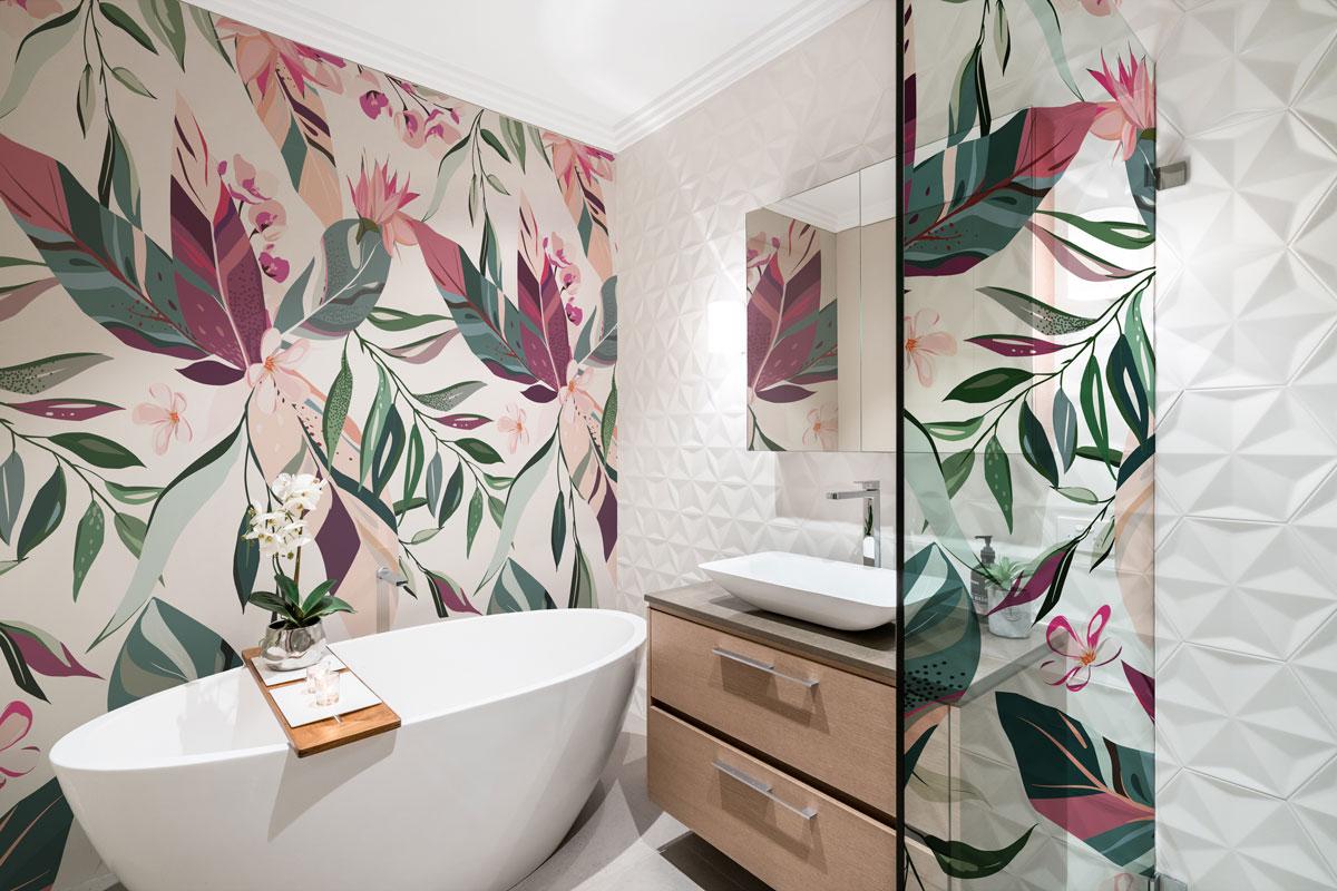 Kolorowa egzotyka do łazienki
