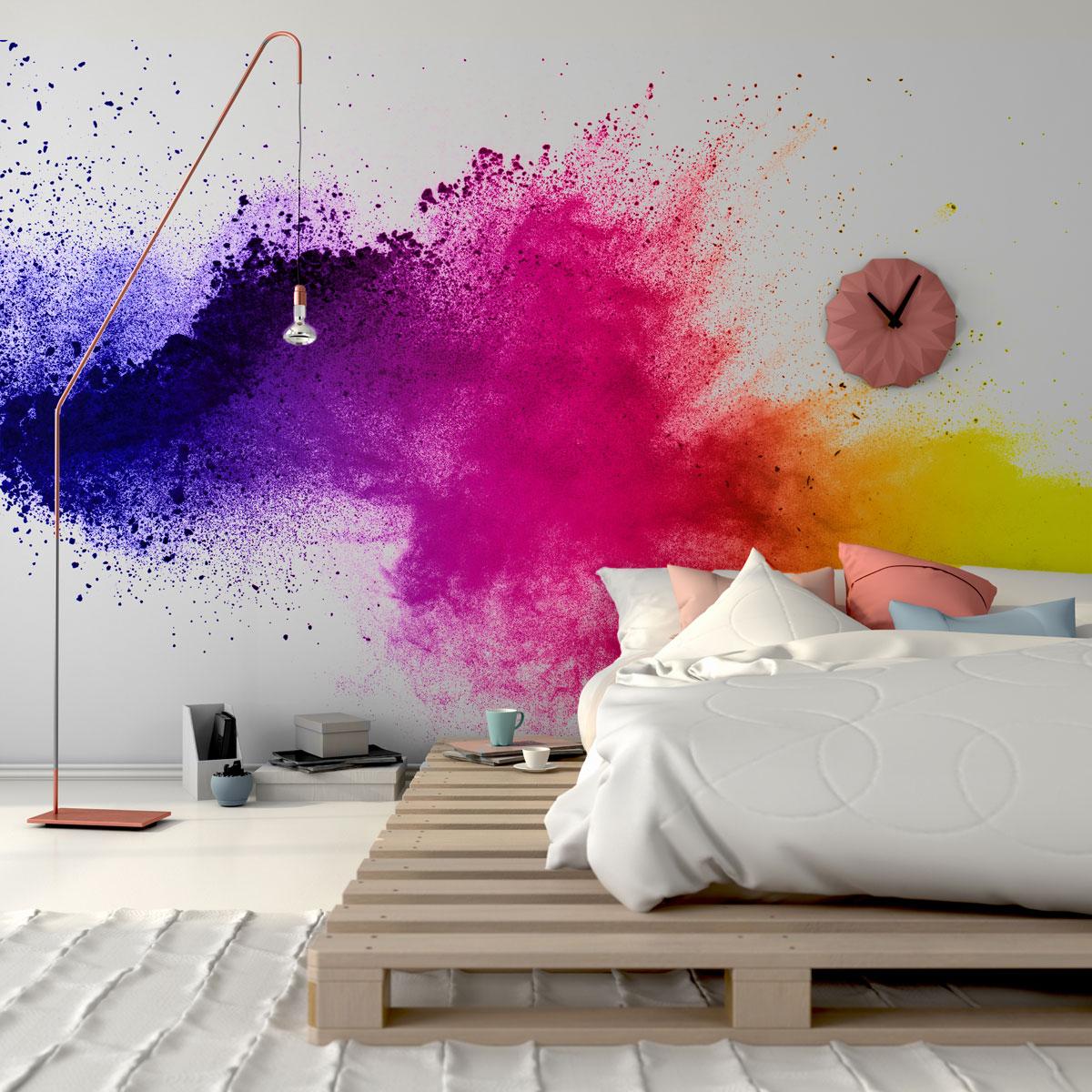 Wybuchowy kolor do sypialni